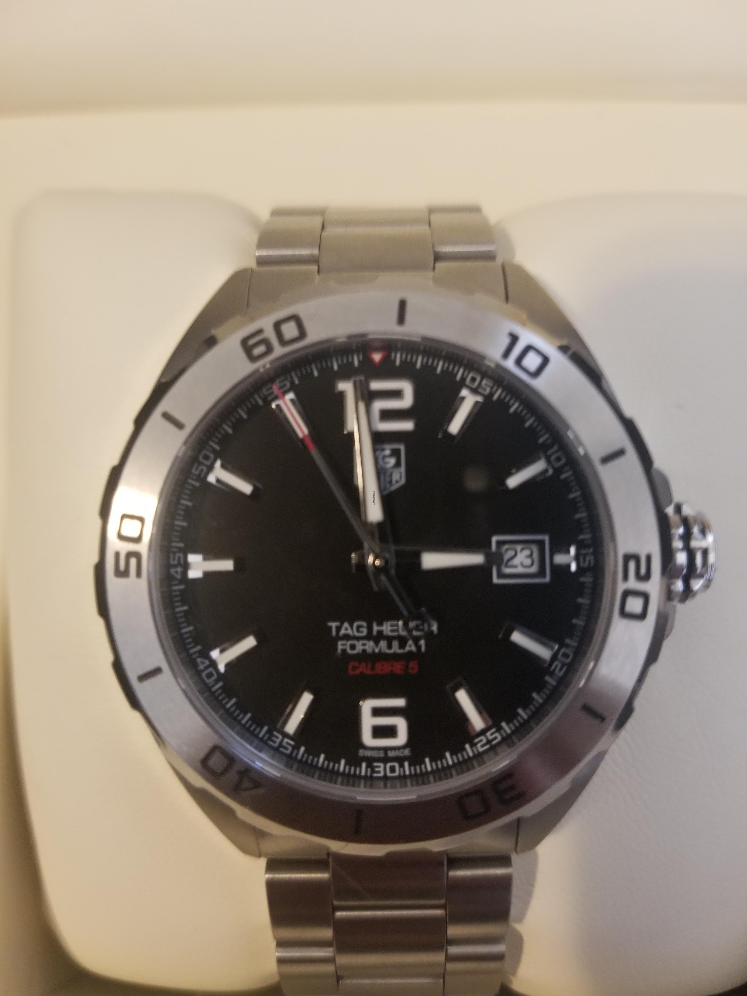 c52a1dcd5 TAG Heuer Formula 1 Calibre 5 for Listing no longer available for ...