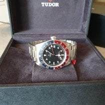 Tudor Black Bay GMT Aço 41mm Preto Sem números Portugal, Arcozelo