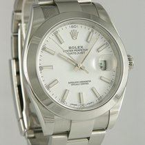 Rolex Datejust II Stahl 40mm Weiß Keine Ziffern Deutschland, Heilbronn