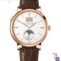 A. Lange & Söhne Saxonia Rose gold 40mm Silver No numerals United Kingdom, London