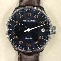 Meistersinger Otel 43mm Armare manuala CCP317G nou