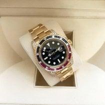 Rolex 116758SARU Or jaune 2013 GMT-Master II 40mm occasion