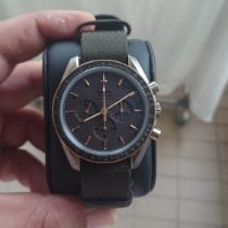 Omega Speedmaster Professional Moonwatch Titanium 42mm Grey No numerals Singapore, singapore