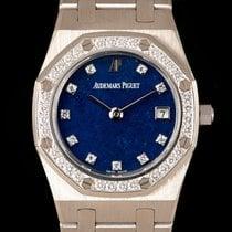 Audemars Piguet Royal Oak White gold 25mm Blue