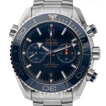 Omega Seamaster Planet Ocean Chronograph Stahl 45.5mm Blau Arabisch Deutschland, Stuttgart