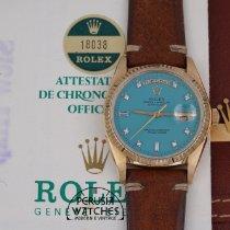 Rolex Day-Date 36 Oro giallo 36mm Blu Senza numeri Italia, Perugia