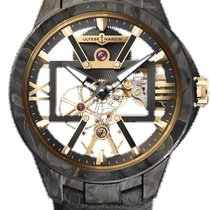 Ulysse Nardin Carbon Manual winding Transparent 43mm new Executive