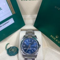 Rolex Oyster Perpetual 36 Steel 36mm Blue Arabic numerals United States of America, New York, New York