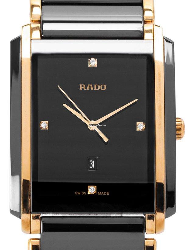 Rado Integral Diamonds R20204712, Diamanten, 2018, Gut, Gehäuse Stahl, Band: Stahl