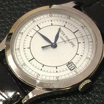 Patek Philippe 5296G-001 White gold 2015 Calatrava 38mm pre-owned