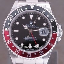 Rolex GMT-Master Steel 40mm Black No numerals United Kingdom, London Paris Brussels face to face delivery only other destinaition shipping with Brinks and DHL Express