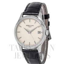 Patek Philippe White gold Automatic Champagne 39mm pre-owned Calatrava