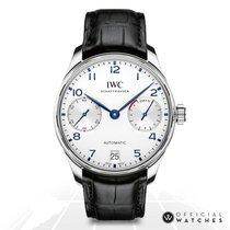 IWC Portuguese Automatic Steel 42mm Silver Arabic numerals