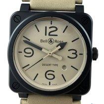 Bell & Ross BR0392-DESERT-CE deutsche Papiere inkl MWST