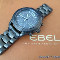 Ebel Steel 43mm Quartz E 1216121 new