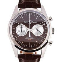 Bell & Ross Vintage Officer 41 Chronograph Brown Dial L.E.