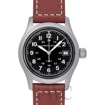 Hamilton H68411533 Steel Khaki Field 40mm new