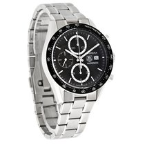 TAG Heuer Carrera Mens Swiss Automatic Chronograph Watch...