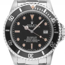 Rolex Sea-Dweller Triple Six Tritium Mark III Stahl Automatik...