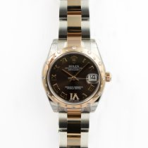 Rolex Lady Datejust 31mm Chocolate Diamond Unworn