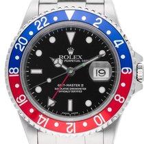 Rolex GMT Master II rot blau Pepsi Stahl Automatik Armband Oyster