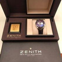 Zenith Steel 40mm Automatic 03.0510.4021/75.C491 new