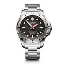 Victorinox Swiss Army new Quartz 45mm Steel Sapphire Glass