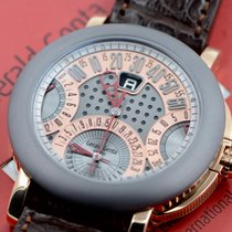 Gérald Genta pre-owned Automatic 45mm Grey Sapphire Glass 10 ATM