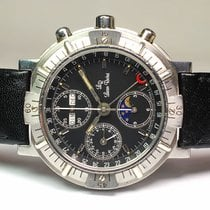 Lucien Rochat Chronograph 42mm Automatic 2000 pre-owned Black