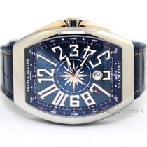 Franck Muller Gold/Steel 45mm Automatic Yachting V45 SC DT new
