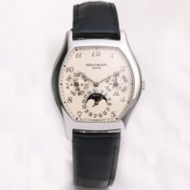 Patek Philippe 5040P Platinum Perpetual Calendar 35mm pre-owned United States of America, New York, NYC