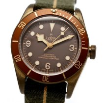 Tudor Black Bay Bronze pre-owned 43mm Brown Plastic
