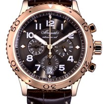 Breguet Aur roz Atomat Maron Arabic 42mm folosit Type XX - XXI - XXII