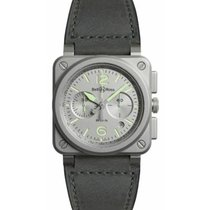 Bell & Ross BR 03-94 Chronographe Steel 42mm Grey Arabic numerals