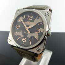 Bell & Ross BR S BRS-CK-ST/SCA New Steel 39mm Quartz