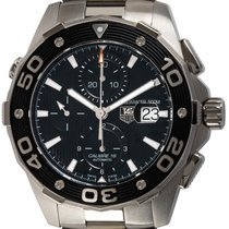 TAG Heuer Aquaracer 500M Steel 44mm Black