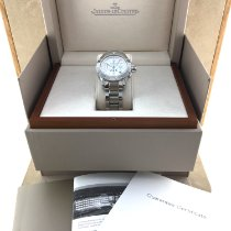 Jaeger-LeCoultre Steel Automatic White 37mm pre-owned Master Compressor Diving Chronograph