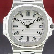 Patek Philippe Nautilus Acero 43mm Blanco