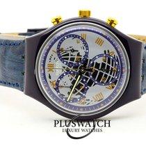Swatch Konstmaterial 37mm Kvarts SCN104 ny