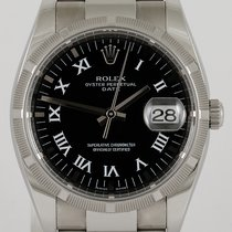 Rolex 115210 Steel 2008 Oyster Perpetual Date 34mm pre-owned