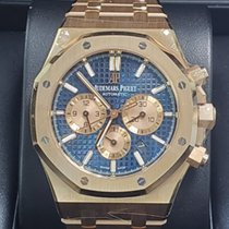 Audemars Piguet Royal Oak Chronograph Pозовое золото 41mm Синий