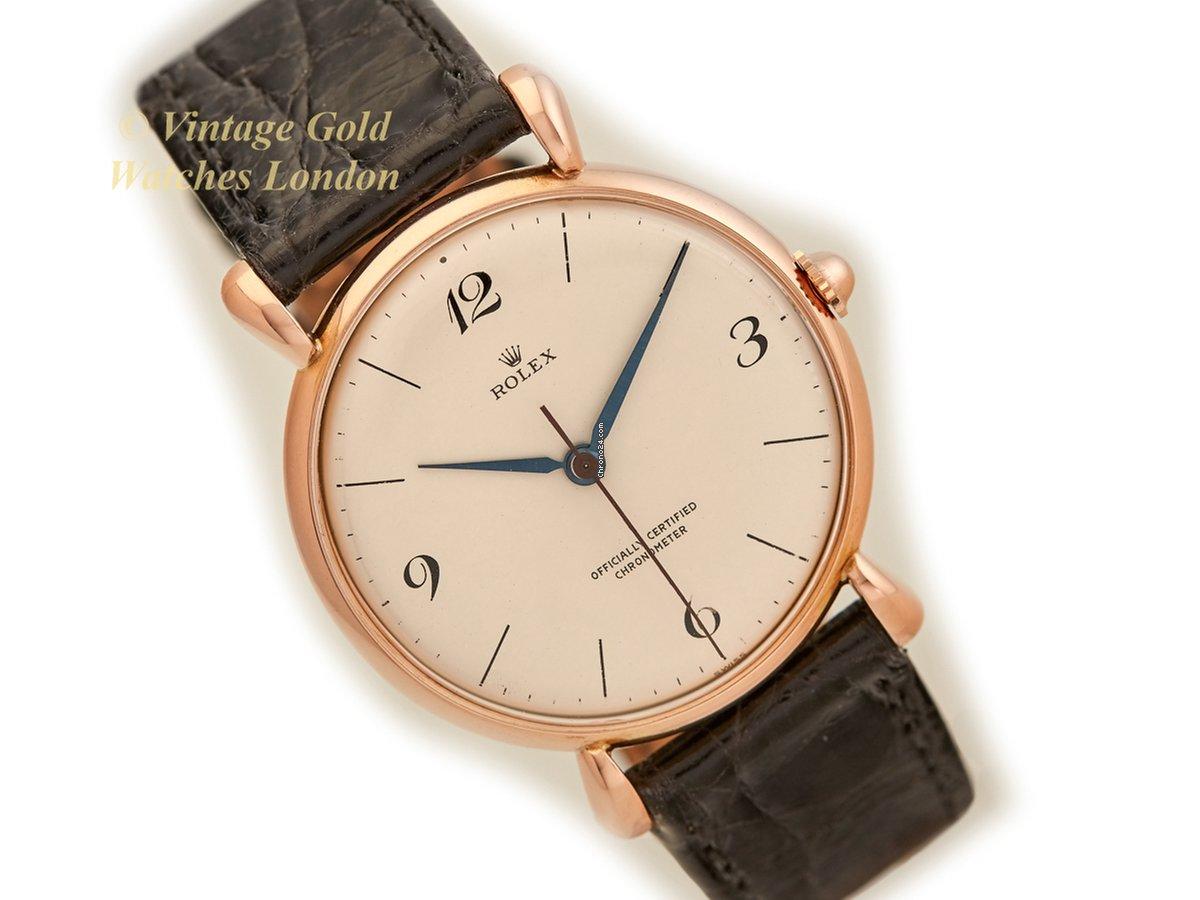 Rolex Precision Chronometer 18ct Pink Gold, 1943