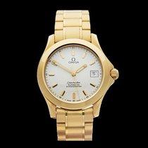 歐米茄 (Omega) Seamaster Chronometer 18k Yellow Gold Gents...