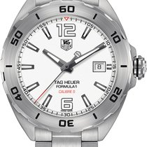 TAG Heuer Formula 1 Calibre 5 White United States of America, New York, Brooklyn