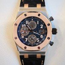 Audemars Piguet Royal Oak Offshore Chronograph Gold/Steel 42mm Blue