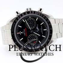 Omega Speedmaster Professional Moonwatch Moonphase Acero 44,25mm Negro Sin cifras