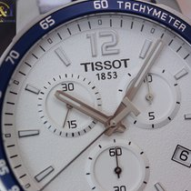 Tissot Quickster Chronograph 42mm Steel Silver Indexes/Arabic ...