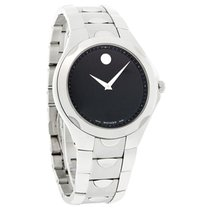 Movado Luno Sport Series Mens Black Dial Swiss Quartz Watch...