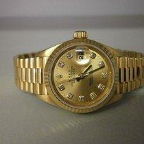 """勞力士 (Rolex) President 69178 """"u"""" 18k Ladies 26mm Watch..."""