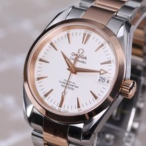 Omega Seamaster Aqua Terra Mid Size Chronometer Steel & Gold